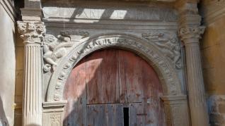 Imágenes de la iglesia de Castarlenas, en la comarca de la Ribagorza.