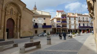 Rompida de la hora en Calanda con las medidas por el Covid 19/ 2021-04-02/ Fotos: Jorge Escudero[[[FOTOGRAFOS]]]