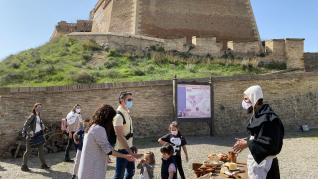 Recreaciones de la Baja Edad Media en el castillo de Monzón