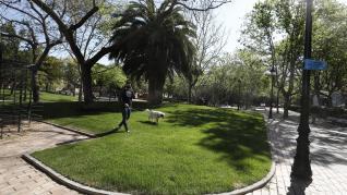 Acaban las obras de reforma de la plaza de los Sitios de Zaragoza.