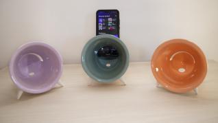 Altavoces de cerámica para móviles.