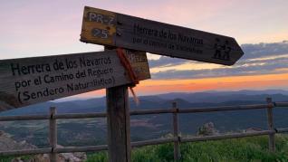 El Santuario de la Virgen de la Sierra está a más de 1.300 metros de altitud.