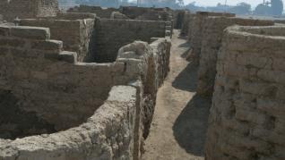 La gran ciudad perdida hallada en Egipto