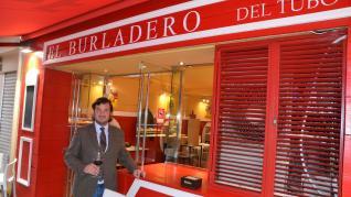El Burladero, apertura taurina en El Tubo: Emilio Peña Peña en el local