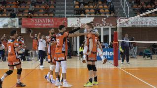 Último partido de Partido de 'play off' de semifinal de Superliga entre CV Teruel y el Unicaja Costa de Almería.