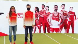 Ropa diseñada por Joma para los atletas españoles en Tokio