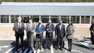 Inauguración del Canfranc