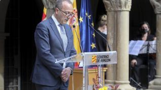 Celebración del Día de Aragón en Huesca.