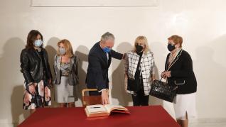 Foto de la entrega de las distinciones -Medalla de Oro, Hijos Predilectos e Hijos Adoptivos- del Ayuntamiento de Zaragoza 2020