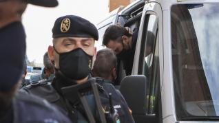 El acusado, Igor el Ruso, ha llegado a las dependencias judiciales a las 9.00.