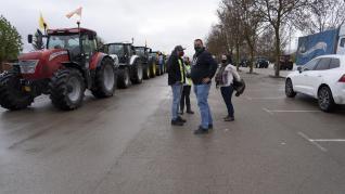 Tractorada en Teruel por una PAC Justa