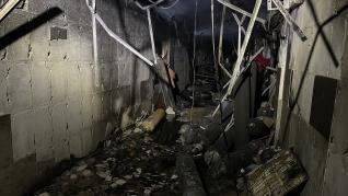 Explosión e incendio en un hospital para pacientes de covid-19 en Bagdad