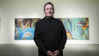 Exposición 'D Broto (Donación)', del pintor José Manuel Broto, en el IAACC Pablo Serrano de Zaragoza