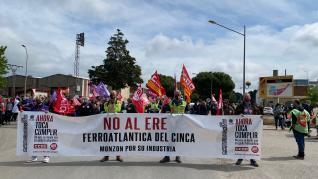Manifestación en la provincia de Huesca