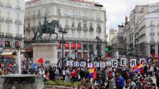 UGT y CC.OO. exigen en la calle al Gobierno que cumpla con los trabajadores