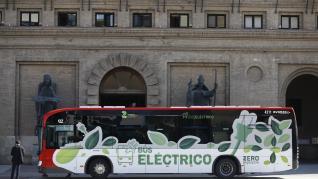 Autobuses eléctricos en Zaragoza