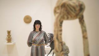Cerámicas de la escultora zaragozana Mara Ona en la galería La Casa Amarilla.