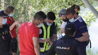 Búsqueda en el Ebro y la zona del puente de Piedra de Francisca Labrador, la mujer de 53 años desaparecida en Zaragoza.