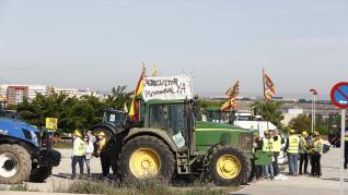 Manifestación por la PAC en Zaragoza, Ejea y Cariñena