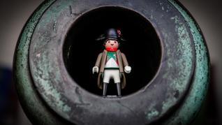 La vida de napoleón, en versión Playmobil