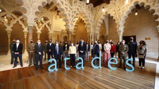 Entrega de los XII Premios Atades, en el Palacio de la Aljafería