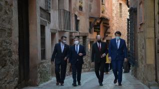 Reunión de los presidentes de Castilla León, Castilla La Mancha y Aragón