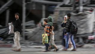 Bombardeos israelíes en Gaza