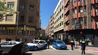 Incendio en la calle Doctor Casas