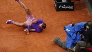 Partido entre Nadal y Djokovic