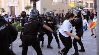 Incidentes en Ceuta.