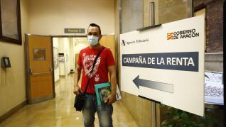 Servicio de cita previa de la renta de la Agencia Tributaria en Madrid.