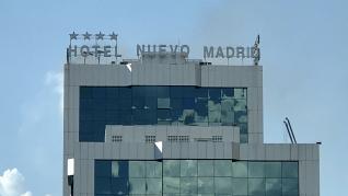 Incendio en el Hotel Nuevo Madrid