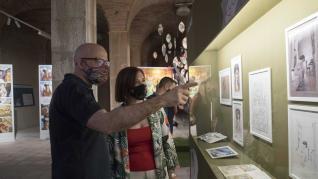 Exposición sobre el cómic y Goya en Zaragoza