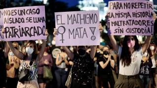 Concentraciones en diferentes ciudades de España contra la violencia machista
