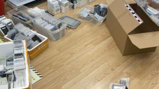Imagen de los productos falsificados