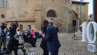 El Gobierno de Aragón y el Obispado de Barbastro-Monzón reciben el premio Magister por su trabajo conjunto para la devolución de los bienes