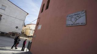 Vista de la localidad de Sediles (Zaragoza)