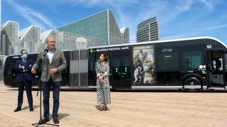 Nuevo autobús-tranvía en Zaragoza