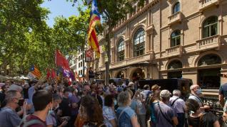 Conferencia de Pedro Sánchez en el Liceu de Barcelona