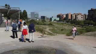 Presentación del proyecto de piscinas municipales de la Almozara