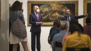 La estela de Corrado Giaquinto en España: de González Velázquez y Bayeu a Goya
