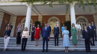 Primera reunión de los nuevos ministros