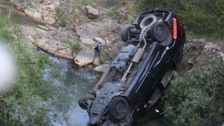 Seis heridos, cuatro de ellos menores, en un accidente en Bailo