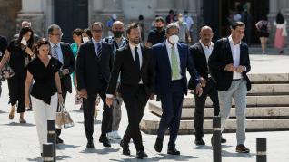 El portavoz de Vox en el Congreso de los Diputados visita Zaragoza
