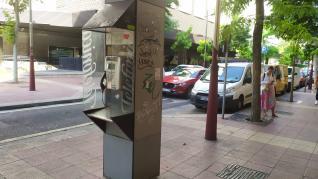 El estado de la mayoría de las cabinas telefónicas de Zaragoza es muy malo.