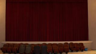 Restauración del salón del cine de Paniza