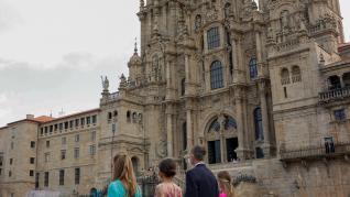 Los reyes de España presiden la ofrenda al Apóstol Santiago
