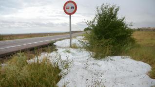 Consecuencias de las tormentas en Teruel