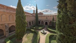 Jardín claustro