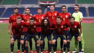 Soccer Football - Men - Group C - Spain v Argentina